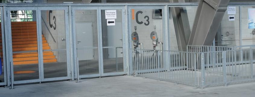 AFG Arena St.Gallen Pausenverglasung
