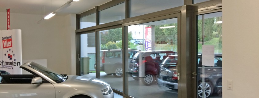 Carpoint Schaufensterverglasung