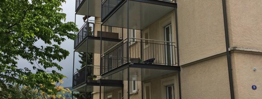 MFH Greitstrasse Balkone