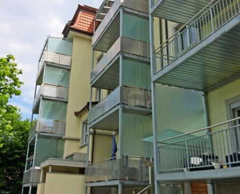 MFH Waldau Balkone
