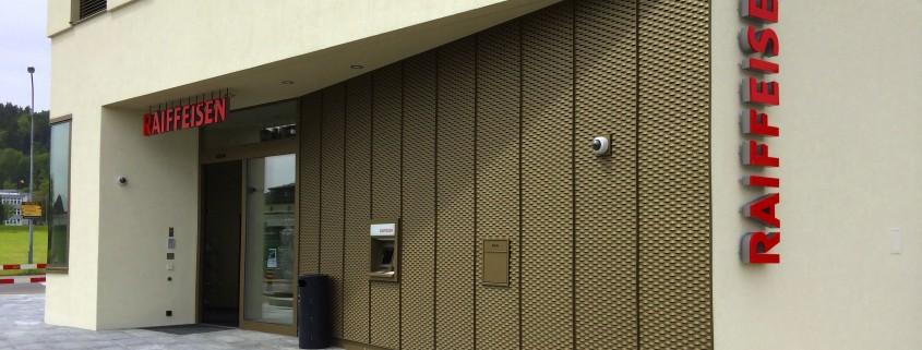 Raiffeisenbank Abtwil Fassade