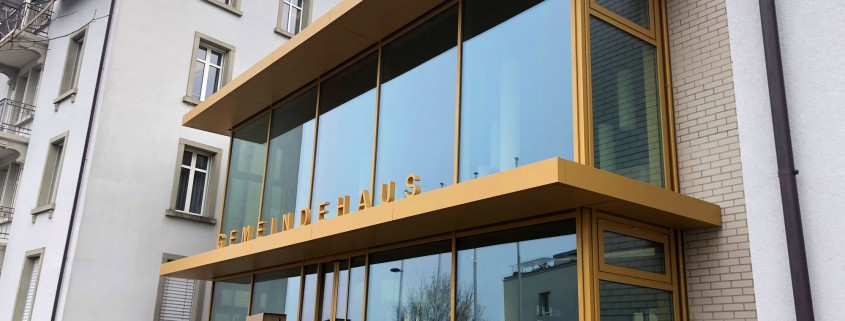 Fassade Gemeindehaus Rorschacherberg